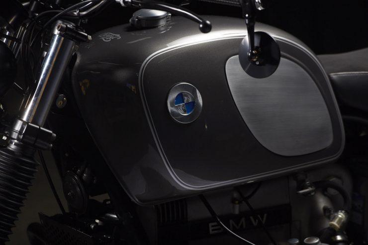 BMW R100 2 740x493 - Fuel Motorcycles BMW R100R Silverback