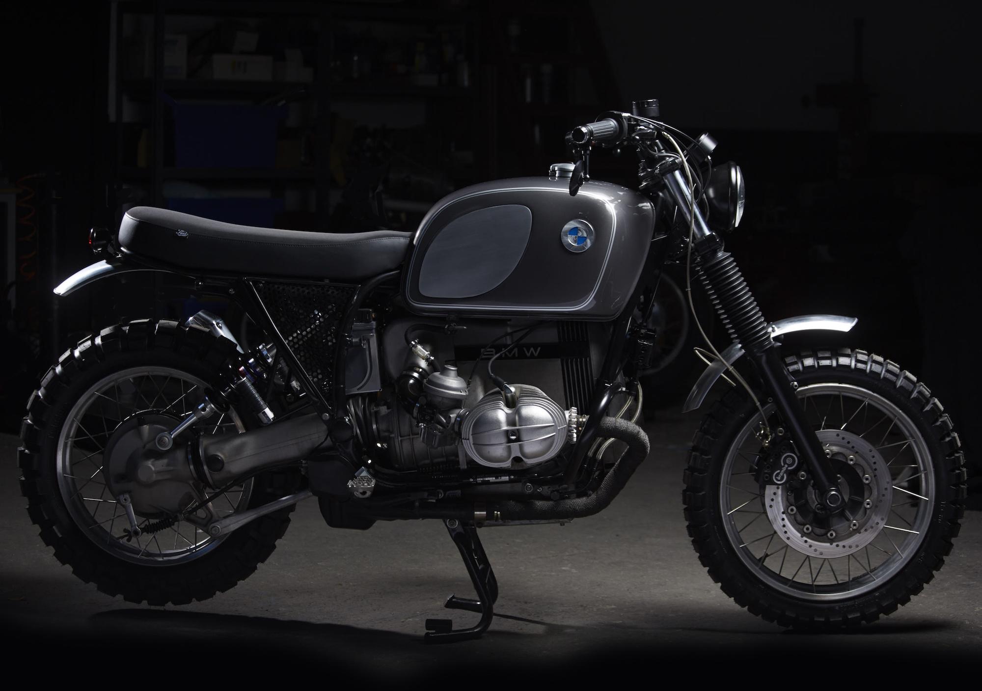 fuel motorcycles bmw r100r silverback. Black Bedroom Furniture Sets. Home Design Ideas