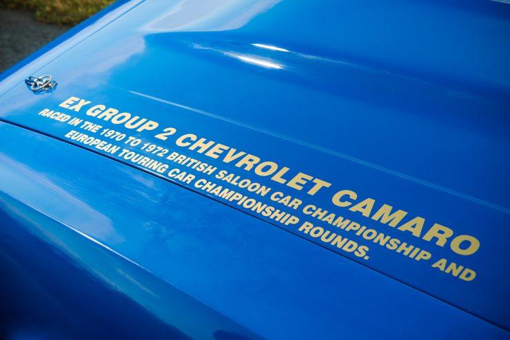 Chevrolet Camaro 6 740x494 - Bill Shaw Racing 1968 Chevrolet Camaro Z/28