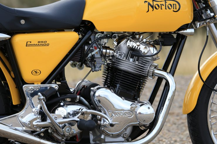Colorado Norton Works Commando 7 740x493 - Colorado Norton Works 1975 Commando