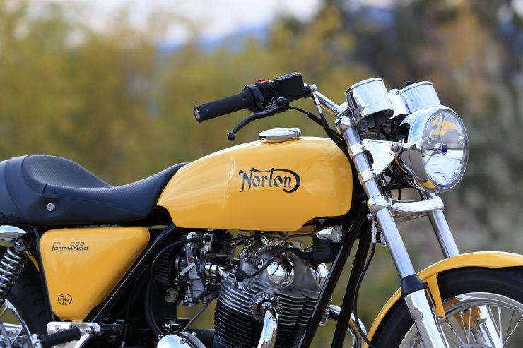 Colorado Norton Works Commando 8 740x493 - Colorado Norton Works 1975 Commando