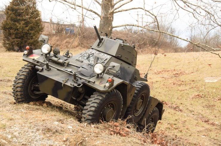 Daimler Ferret Scout Car 1 740x492 - Paintball Gun Equipped Daimler Ferret