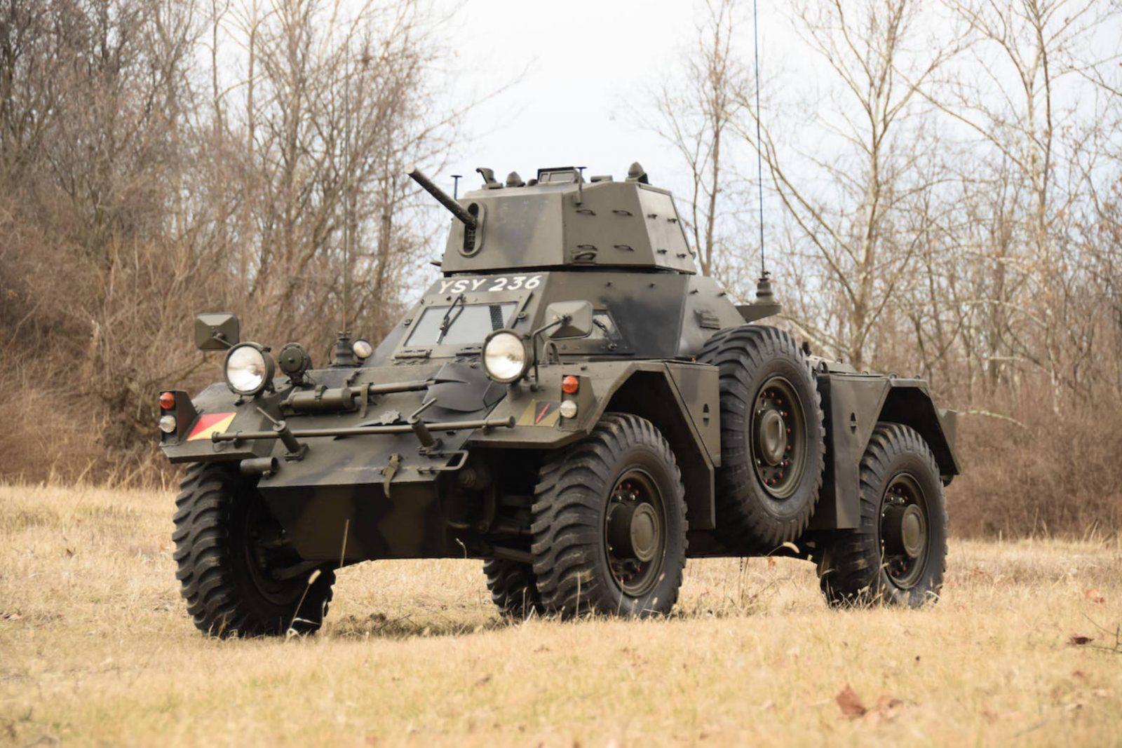 Daimler Ferret Scout Car 1600x1067 - Paintball Gun Equipped Daimler Ferret