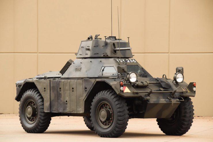 Daimler Ferret Scout Car 17 740x494 - Paintball Gun Equipped Daimler Ferret