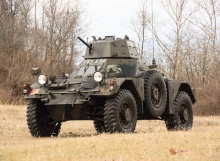 Daimler Ferret Scout Car 450x330 - Paintball Gun Equipped Daimler Ferret