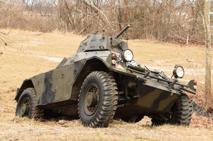 Daimler Ferret Scout Car 6 740x492 - Paintball Gun Equipped Daimler Ferret