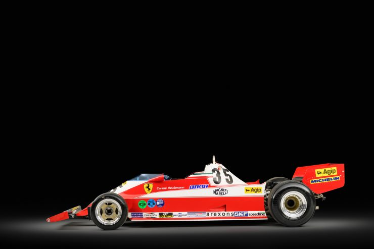 Ferrari 312 T3 Formula One Car 1 740x493 - Ferrari 312T3 Formula One Car