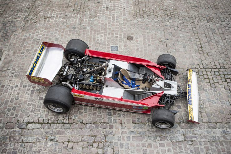Ferrari 312 T3 Formula One Car 10 740x493 - Ferrari 312T3 Formula One Car