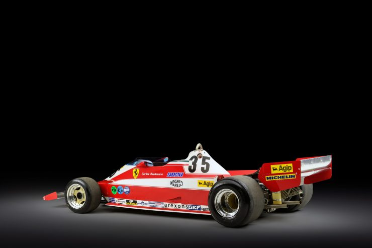 Ferrari 312 T3 Formula One Car 2 740x493 - Ferrari 312T3 Formula One Car