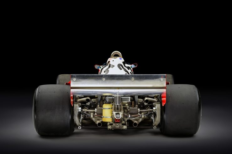 Ferrari 312 T3 Formula One Car 4 740x493 - Ferrari 312T3 Formula One Car