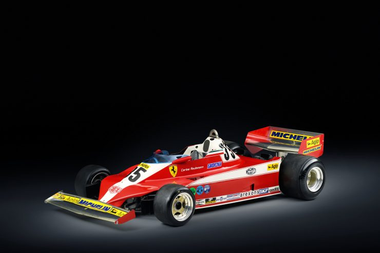 Ferrari 312 T3 Formula One Car 740x493 - Ferrari 312T3 Formula One Car