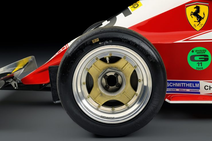 Ferrari 312 T3 Formula One Car 8 740x493 - Ferrari 312T3 Formula One Car