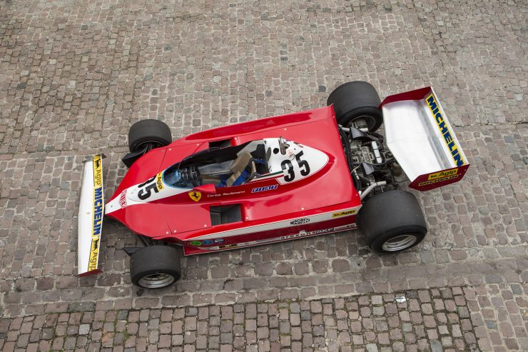 Ferrari 312 T3 Formula One Car 9 740x493 - Ferrari 312T3 Formula One Car