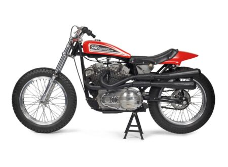 Harley Davidson XR750 2 450x330 - A Brief History of the Harley-Davidson XR-750