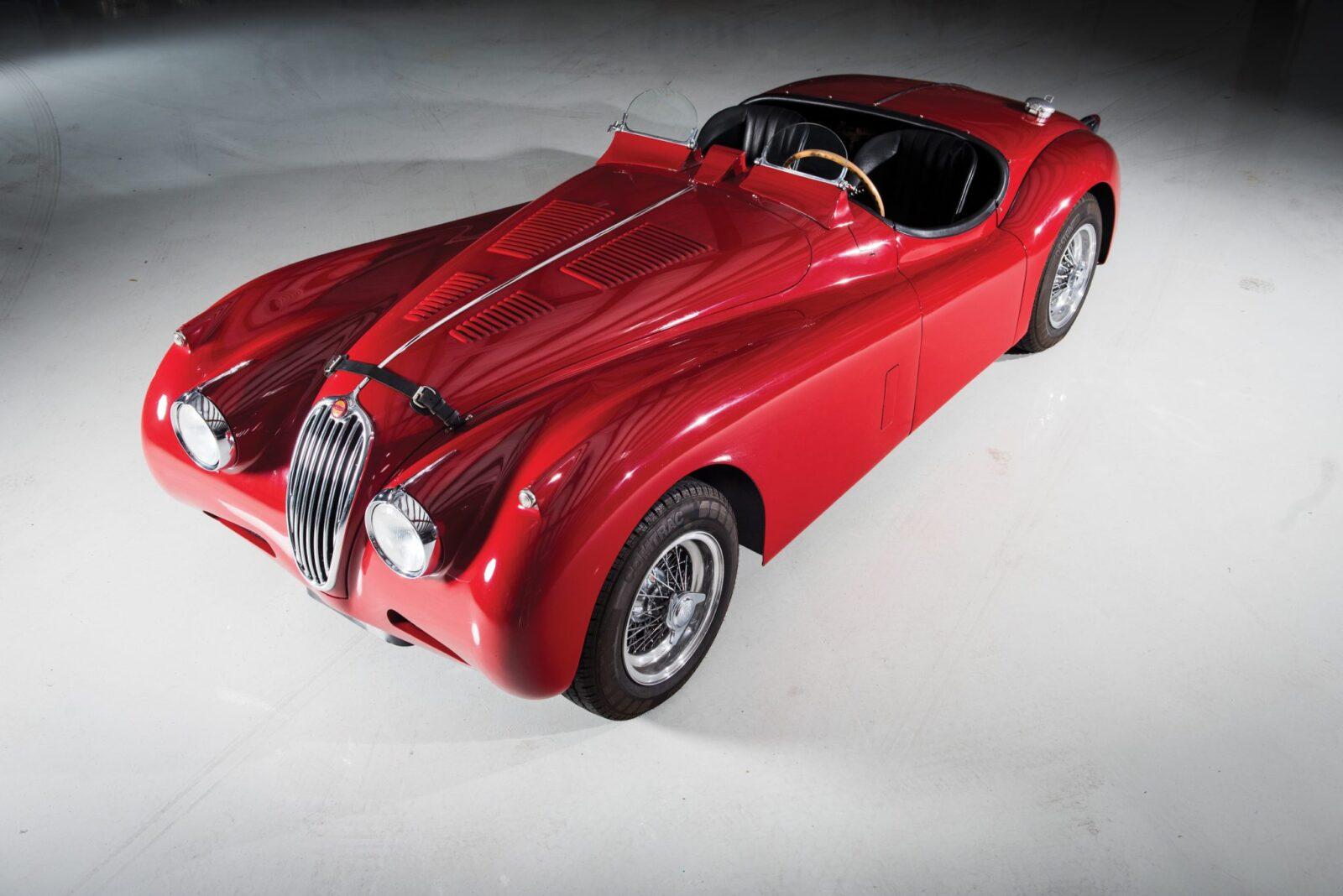 "Jaguar XK 140 1 1600x1068 - 1955 Jaguar XK140 SE ""Heuber Roadster"""