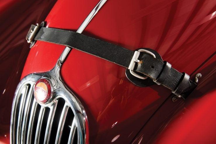 "Jaguar XK 140 10 740x494 - 1955 Jaguar XK140 SE ""Heuber Roadster"""