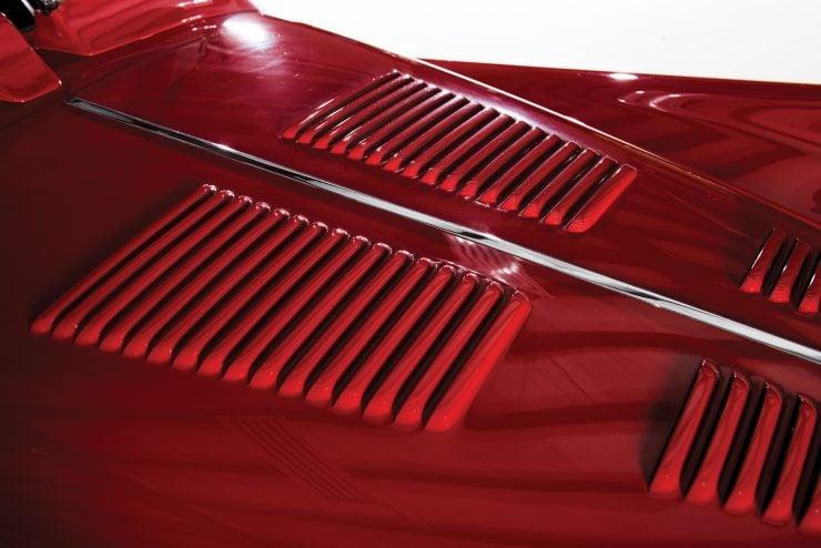 "Jaguar XK 140 11 740x494 - 1955 Jaguar XK140 SE ""Heuber Roadster"""