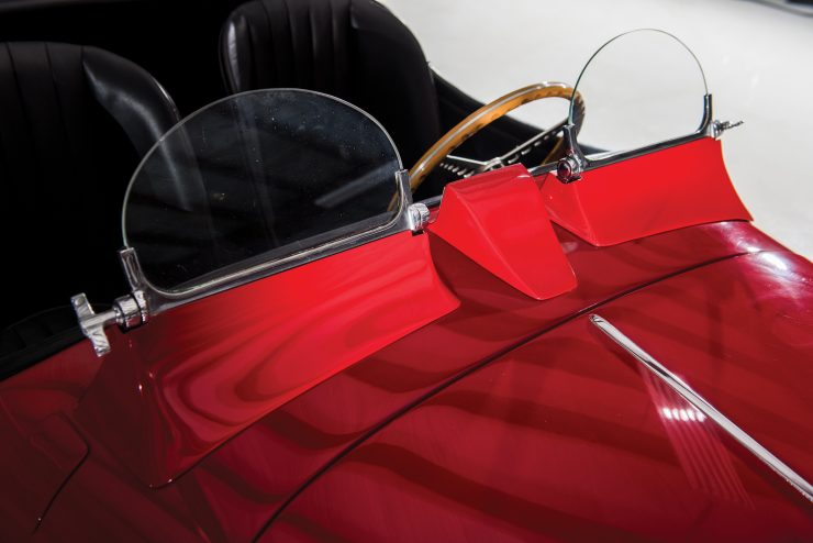 "Jaguar XK 140 12 740x494 - 1955 Jaguar XK140 SE ""Heuber Roadster"""