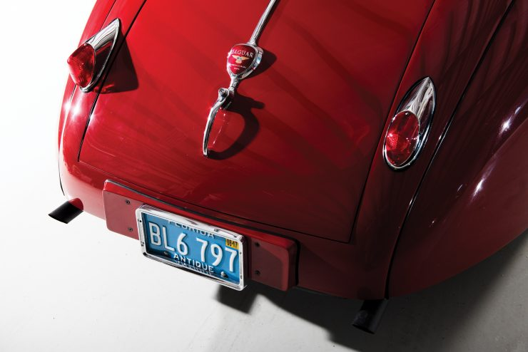 "Jaguar XK 140 13 740x494 - 1955 Jaguar XK140 SE ""Heuber Roadster"""