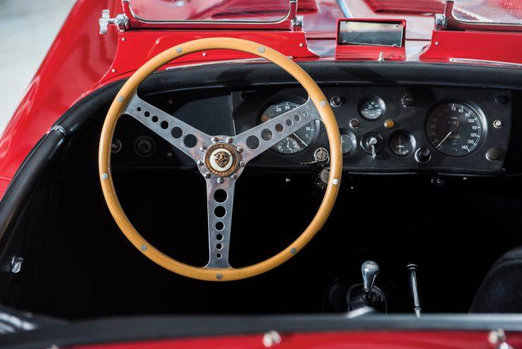 "Jaguar XK 140 14 740x494 - 1955 Jaguar XK140 SE ""Heuber Roadster"""