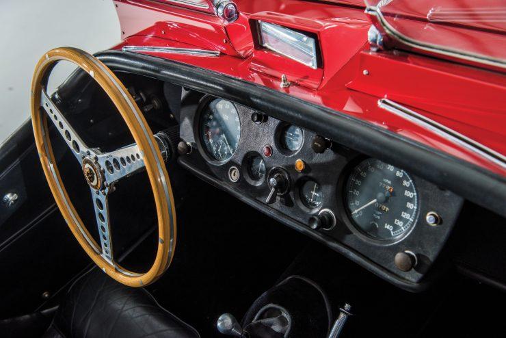 "Jaguar XK 140 15 740x494 - 1955 Jaguar XK140 SE ""Heuber Roadster"""