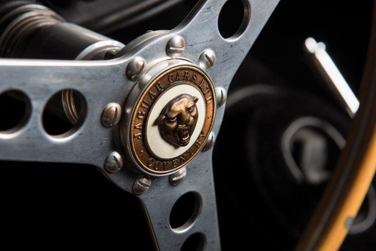 "Jaguar XK 140 16 740x494 - 1955 Jaguar XK140 SE ""Heuber Roadster"""