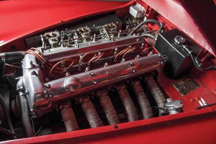 "Jaguar XK 140 17 740x494 - 1955 Jaguar XK140 SE ""Heuber Roadster"""