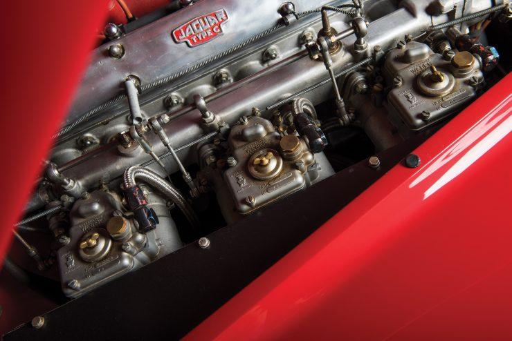 "Jaguar XK 140 18 740x494 - 1955 Jaguar XK140 SE ""Heuber Roadster"""