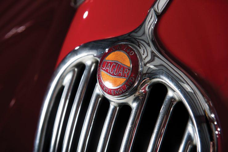 "Jaguar XK 140 5 740x494 - 1955 Jaguar XK140 SE ""Heuber Roadster"""