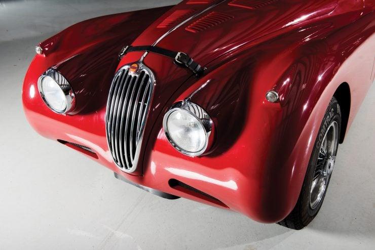 "Jaguar XK 140 6 740x494 - 1955 Jaguar XK140 SE ""Heuber Roadster"""