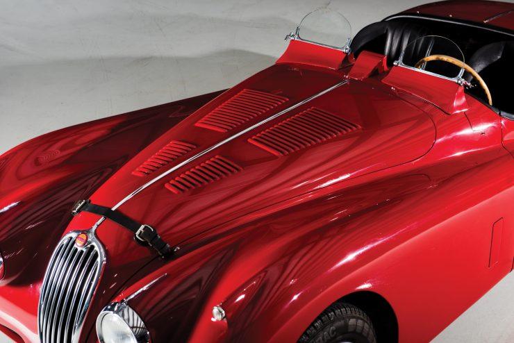 "Jaguar XK 140 8 740x494 - 1955 Jaguar XK140 SE ""Heuber Roadster"""