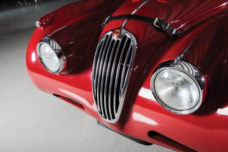 "Jaguar XK 140 9 740x494 - 1955 Jaguar XK140 SE ""Heuber Roadster"""