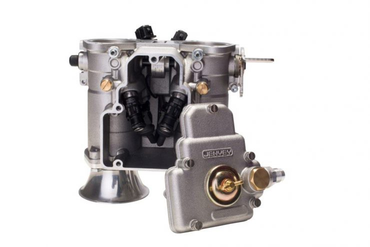 Jenvey Heritage Throttle Body 1 740x494 - Jenvey DCOE Heritage Throttle Bodies