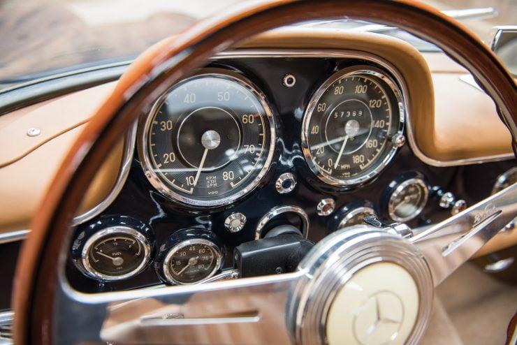 Mercedes Benz 300 SL Gullwing 23 740x494 - Mercedes-Benz 300 SL Gullwing