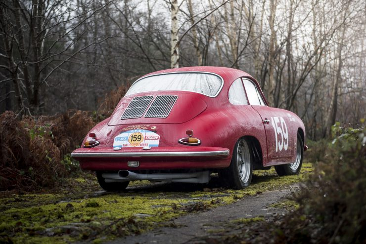 Porsche 356 Car Back 740x494 - 1963 Porsche T6B 356 Carrera 2 GT