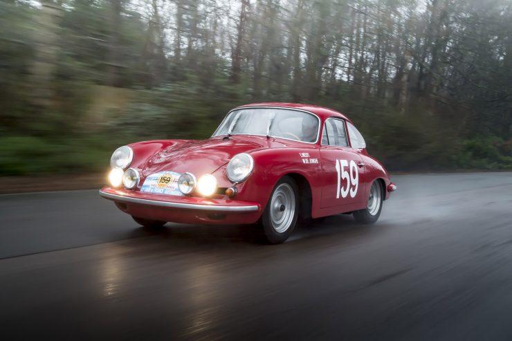 Porsche 356 Car Driving 740x493 - 1963 Porsche T6B 356 Carrera 2 GT