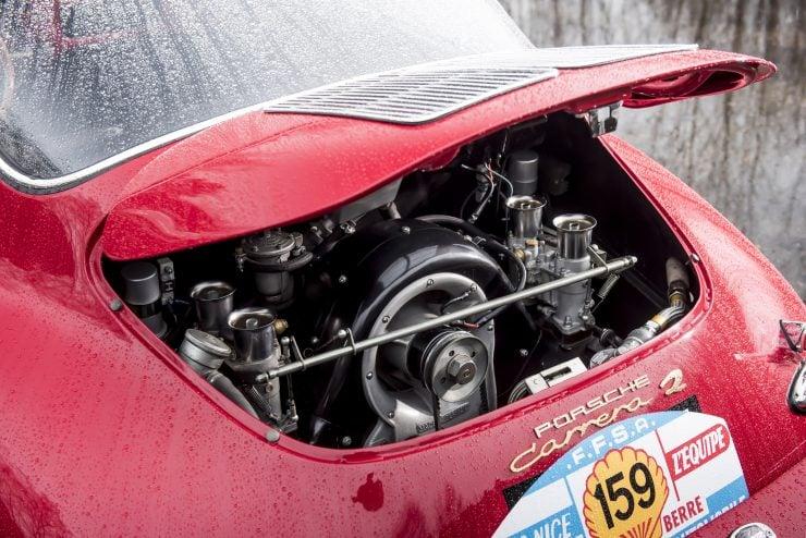 Porsche 356 Car Engine 740x494 - 1963 Porsche T6B 356 Carrera 2 GT