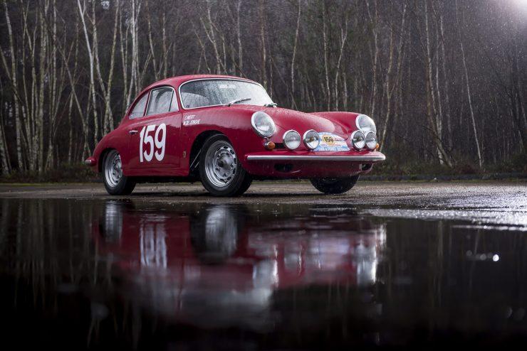 Porsche 356 Car Front Side 740x494 - 1963 Porsche T6B 356 Carrera 2 GT