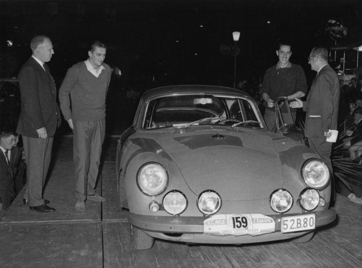Porsche 356 Car Racing 3 740x547 - 1963 Porsche T6B 356 Carrera 2 GT