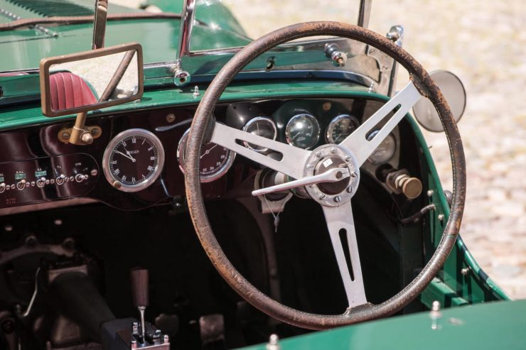 aston martin le mans ulster 11 740x493 - 1935 Aston Martin Ulster Le Mans Works Racer