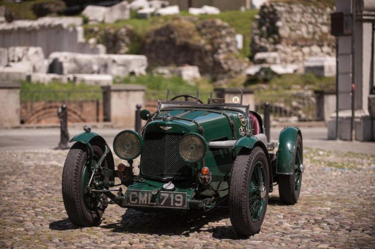 aston martin le mans ulster 2 740x492 - 1935 Aston Martin Ulster Le Mans Works Racer