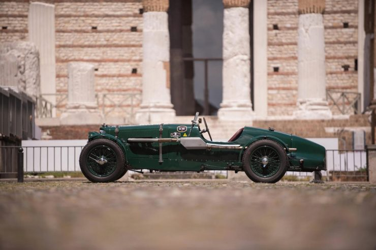 aston martin le mans ulster 3 740x492 - 1935 Aston Martin Ulster Le Mans Works Racer