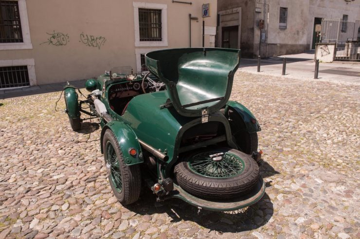 aston martin le mans ulster 5 740x493 - 1935 Aston Martin Ulster Le Mans Works Racer