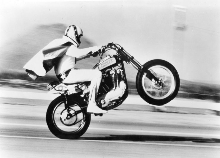 Evel Knievel S 1976 Harley Davidson Goes To Auction: The Harley-Davidson XR-750