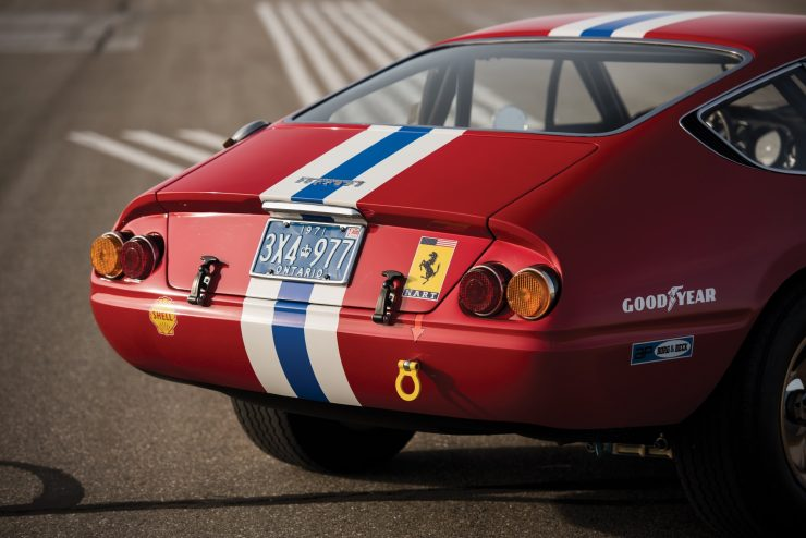 ferrari 365 gtb4 daytona 17 740x494 - Ferrari 365 GTB/4 Daytona Competizione Conversion