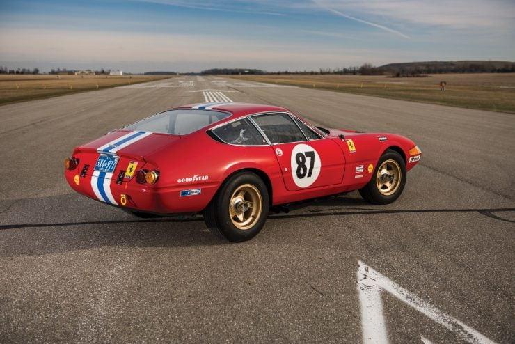 ferrari 365 gtb4 daytona 2 740x494 - Ferrari 365 GTB/4 Daytona Competizione Conversion