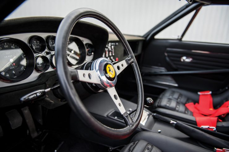 ferrari 365 gtb4 daytona 27 740x494 - Ferrari 365 GTB/4 Daytona Competizione Conversion