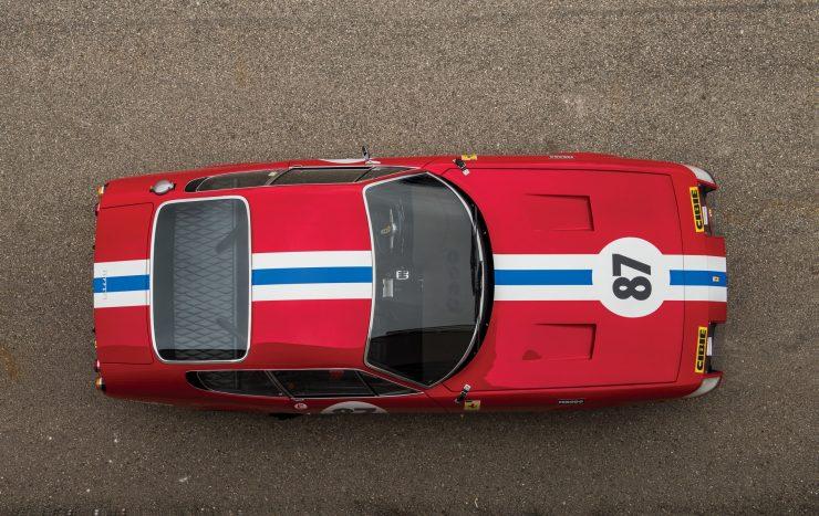 ferrari 365 gtb4 daytona 36 740x467 - Ferrari 365 GTB/4 Daytona Competizione Conversion