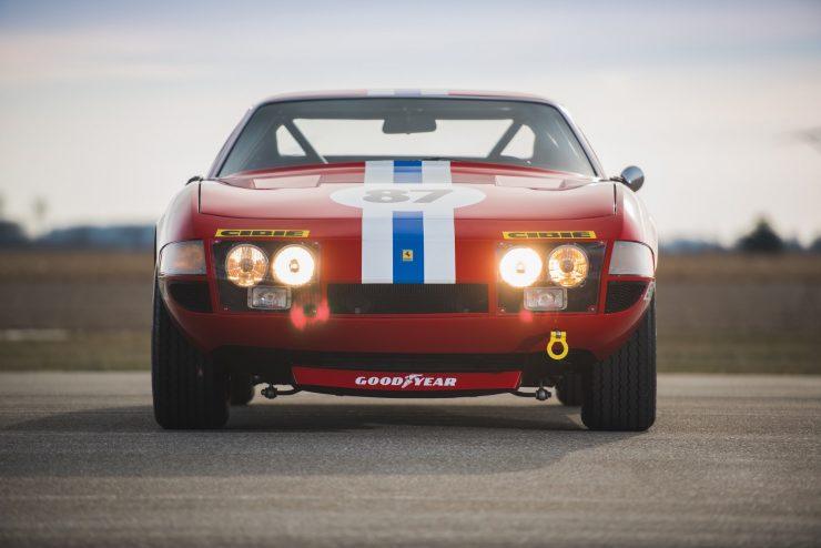 ferrari 365 gtb4 daytona 6 740x494 - Ferrari 365 GTB/4 Daytona Competizione Conversion