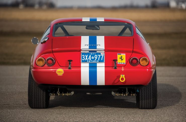 ferrari 365 gtb4 daytona 7 740x485 - Ferrari 365 GTB/4 Daytona Competizione Conversion